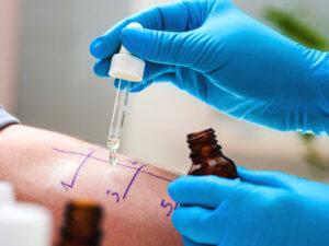 Диагностика бронхиальной астмы - тест аллерген