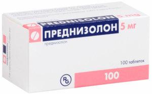 Преднизолон при бронхиальной астме